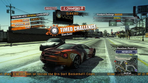 Burnout Paradise Getting Trophies and More - Gematsu
