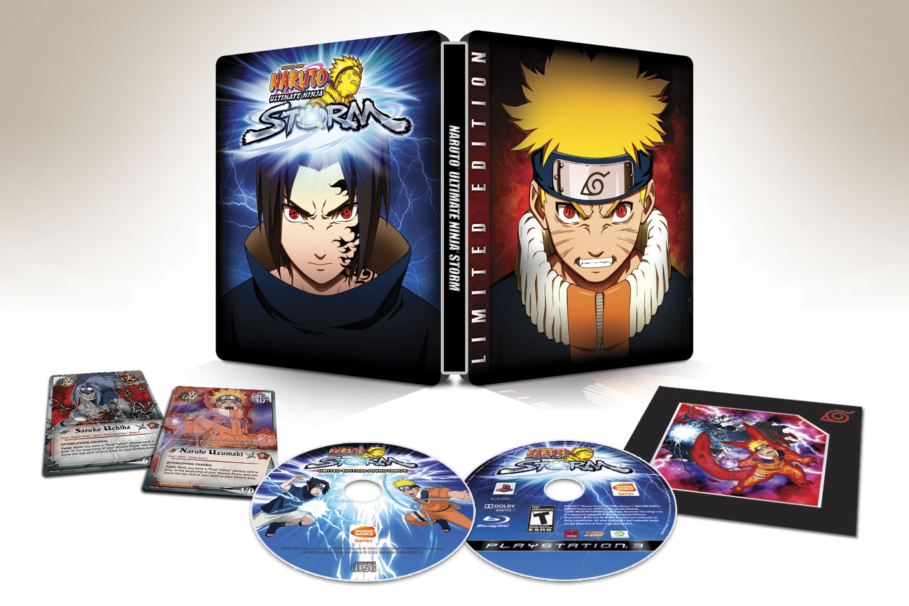 Naruto: Ultimate Ninja Storm Gets Limited Edition - Gematsu