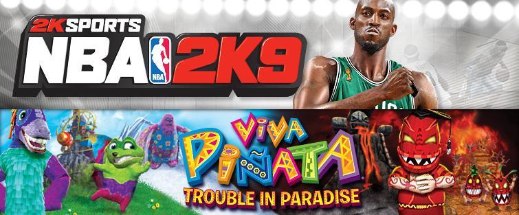 NBA 2K9 and Viva Pinata: TIP Demos Hit XBLM - Gematsu