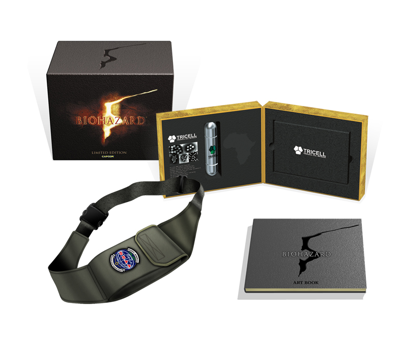 131cded89fcb Resident Evil 5 Japan Special Edition Is Freakin  Awesome - Gematsu
