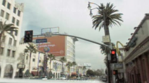 Hollywood Blvd and Highland in real life