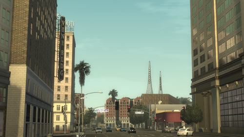 Hollywood and Vine in Midnight Club: Los Angeles