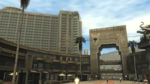 Hollywood and Highland Center in Midnight Club: Los Angeles