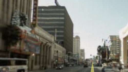 Hollywood Blvd in real life