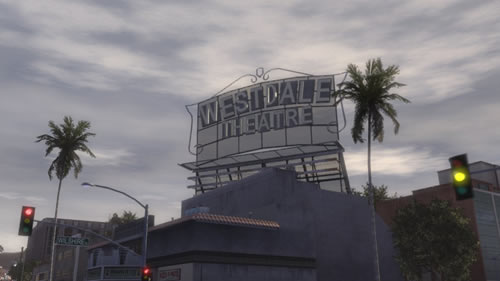 Westlake Theater in Midnight Club: Los Angeles