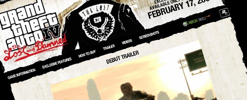 Grand Theft Auto The Lost And Damned Official Site Launched Gematsu