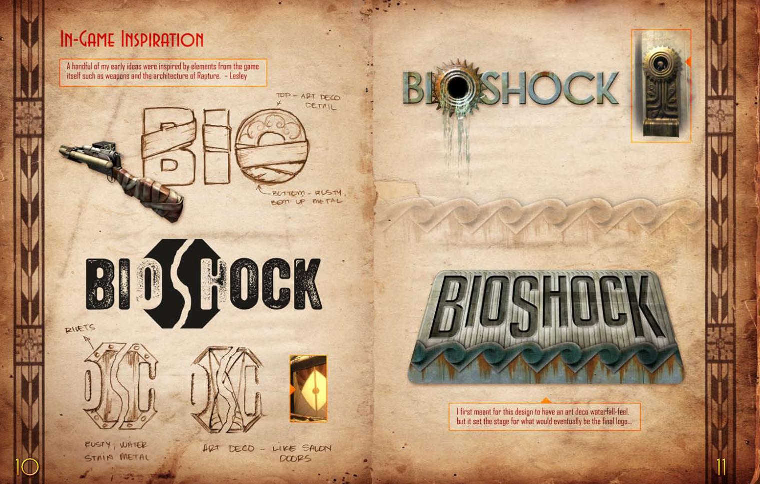 Developer S Edition Bioshock Artbook Coming Soon Gematsu