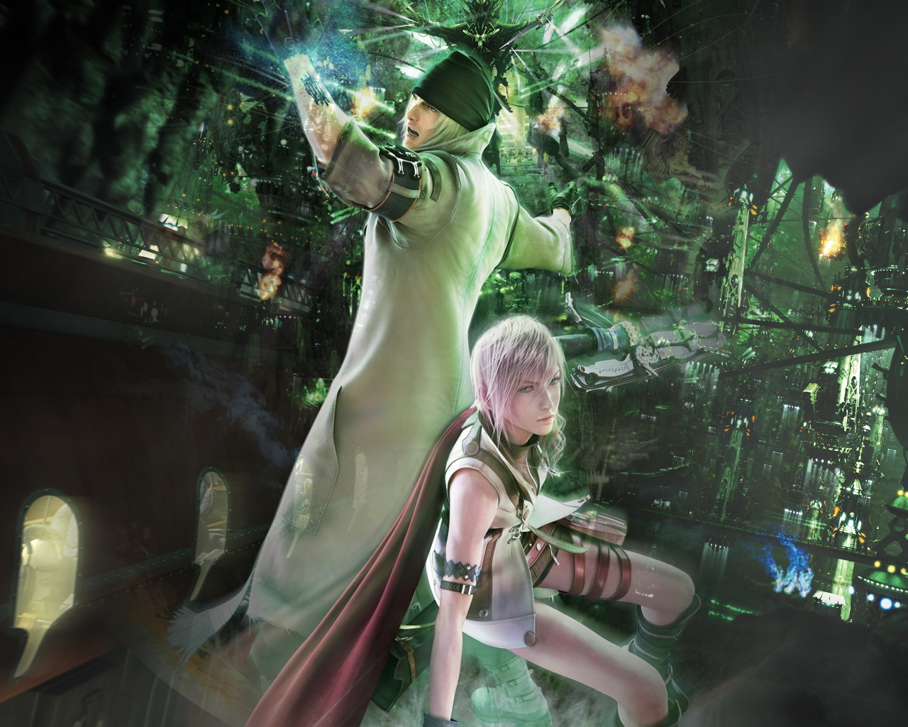 Here's Your Final Fantasy XIII Wallpaper — Scrawl