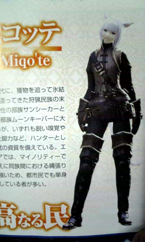 Final Fantasy XIV Races Named, Classes Revealed - Gematsu