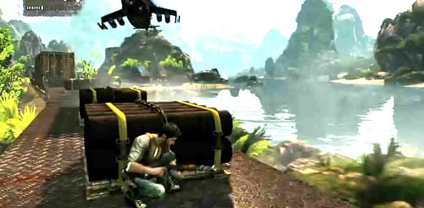 Uncharted 2 Train Gameplay Is Mind Blowing Gematsu