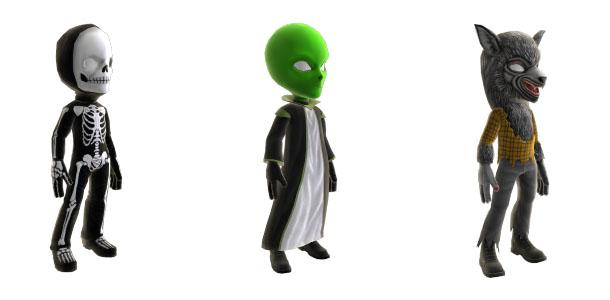 xbox avatars halloween - Halloween Xbox 360