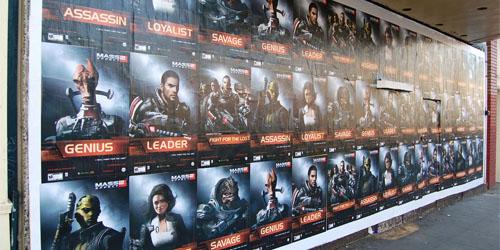 Mass Effect 2 posters decorate California - Gematsu