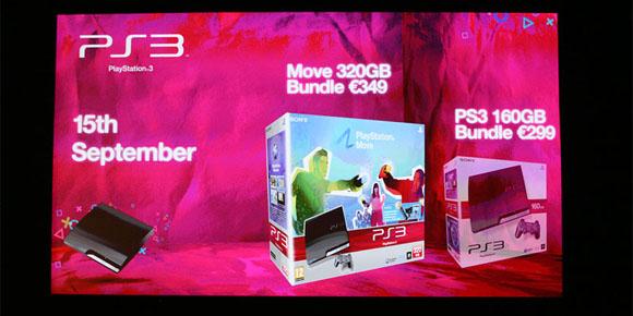Sony confirms PS3 160GB and 320GB models - Gematsu