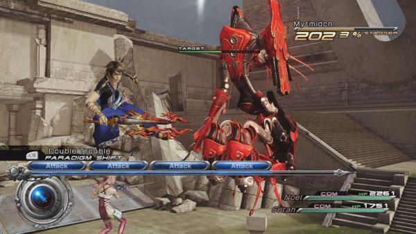 Direct-feed Final Fantasy XIII-2 footage - Gematsu