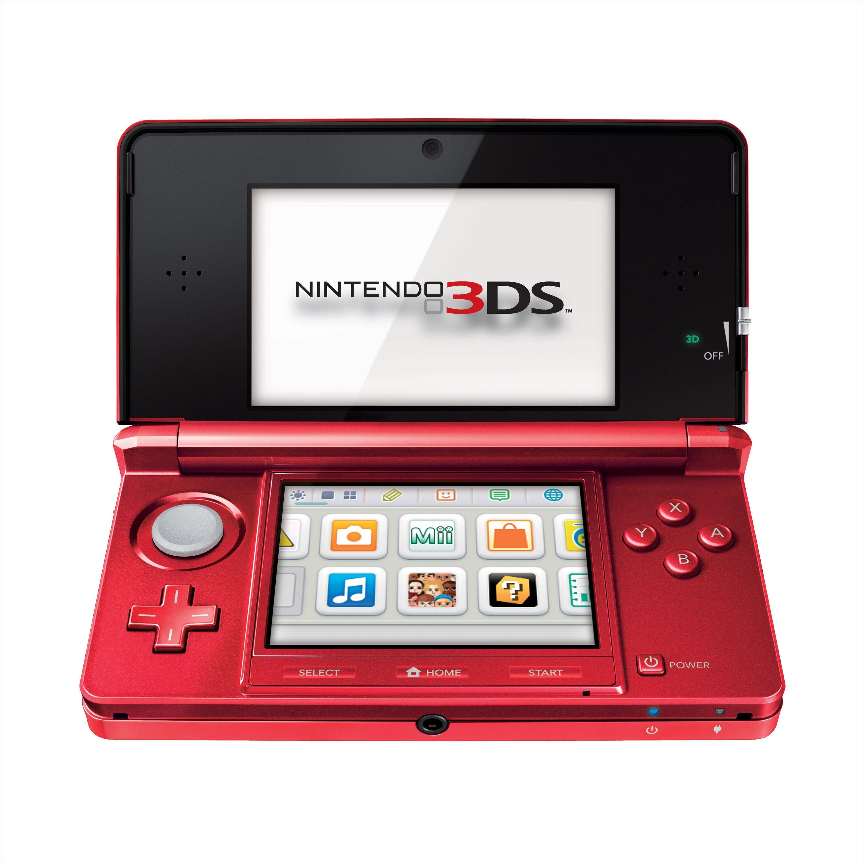 Flame Red Nintendo 3DS set for September - Gematsu