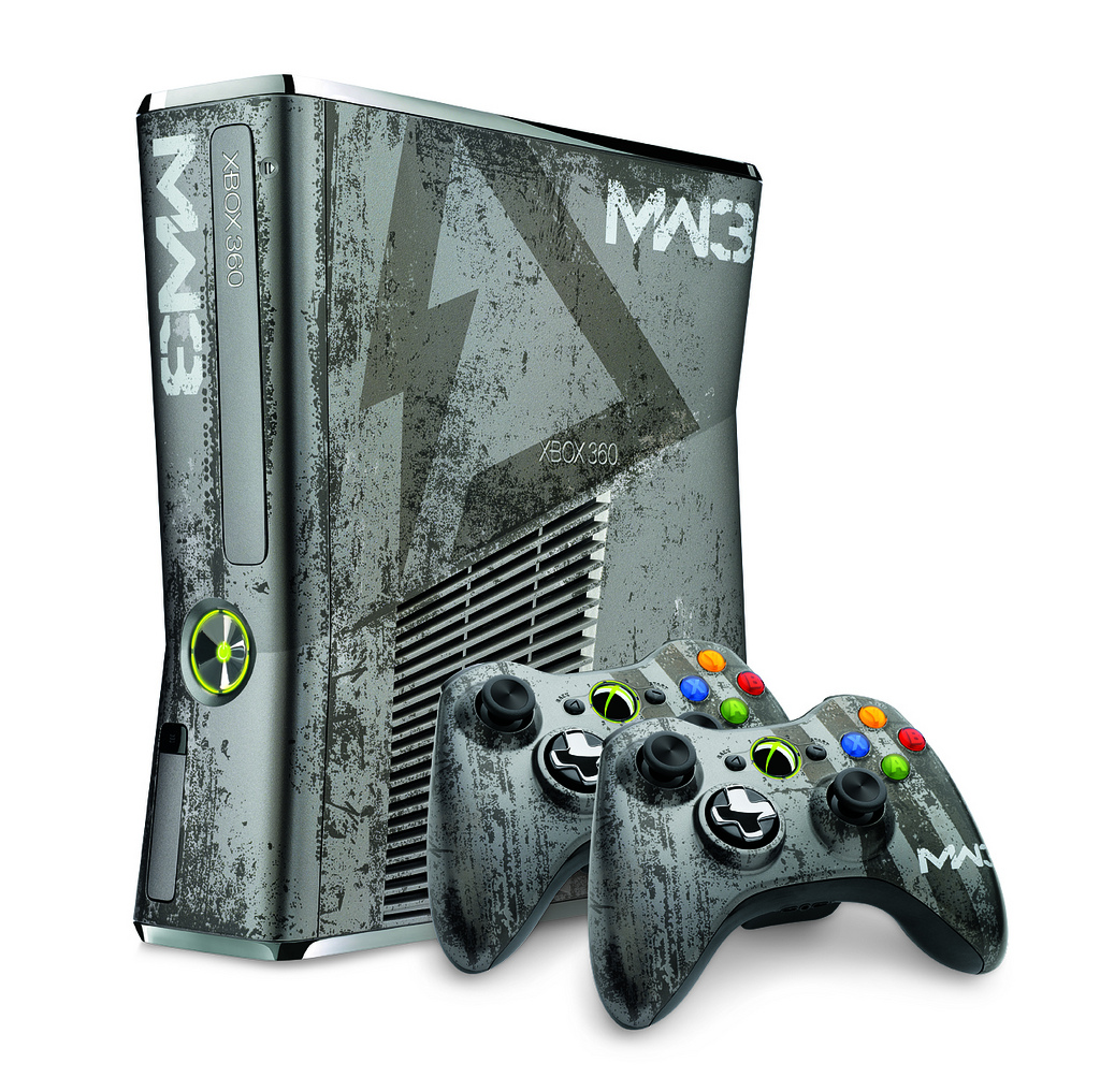 Xbox 360 Limited Edition Modern Warfare 3 Console