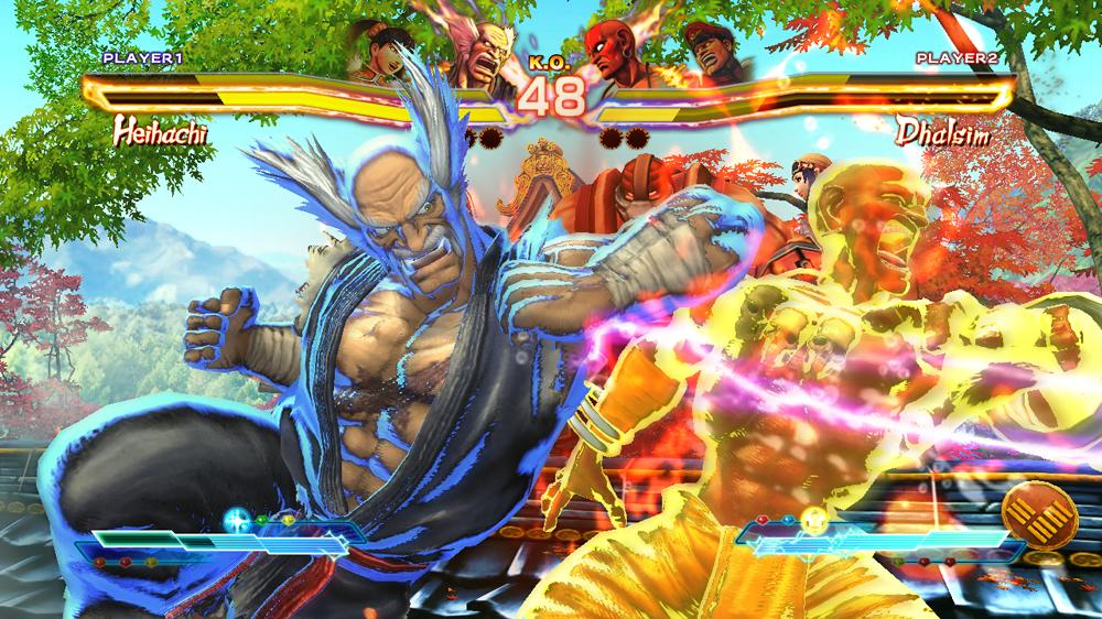 Street Fighter X Tekken screenshot leaks Ling Xiaoyu and M ...