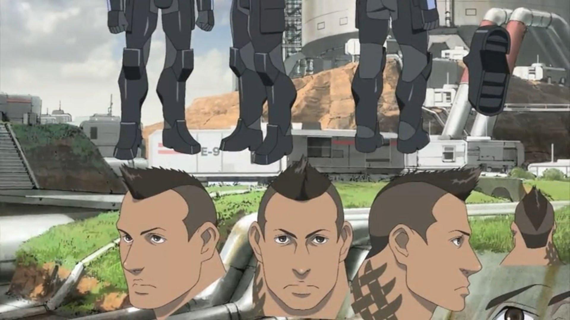 James Vega The Star Of Mass Effect Anime Film Gematsu