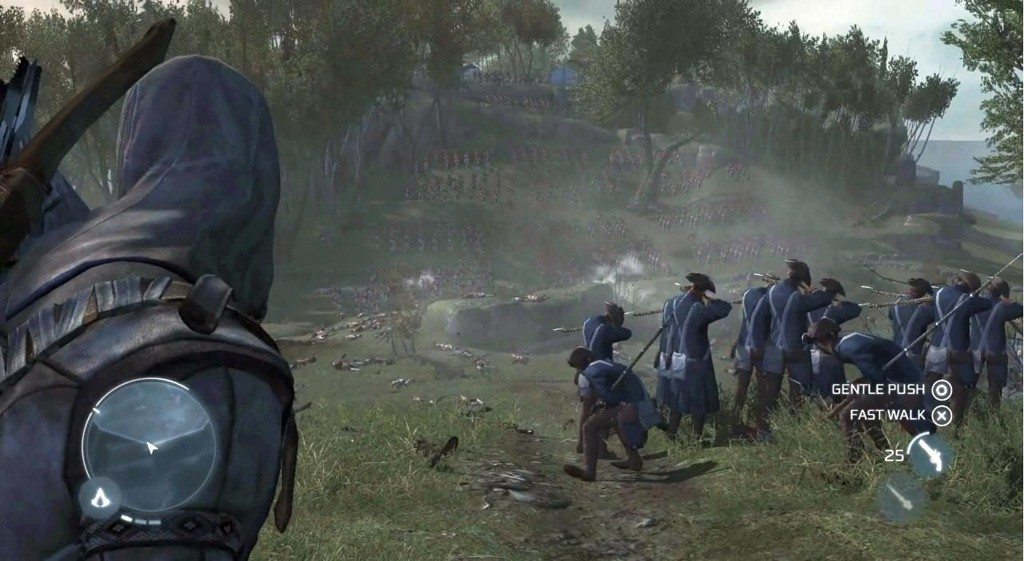 Leaked Assassin S Creed Iii Gameplay Stills Gematsu