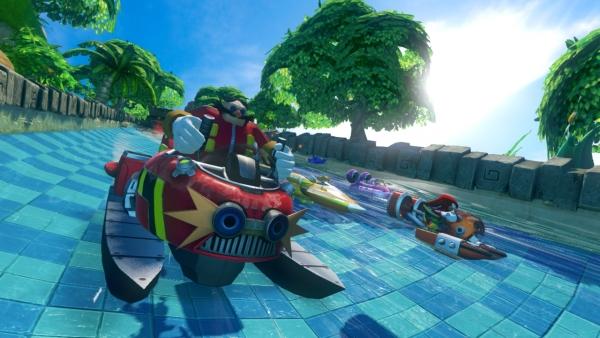 sonic all racing transformed announced gematsu