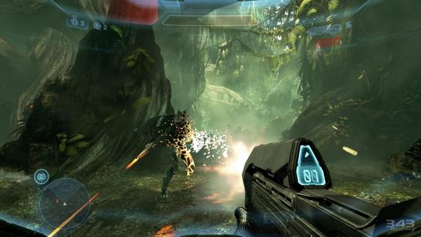 Halo 4 multiplayer requires 8 gigabyte install - Gematsu