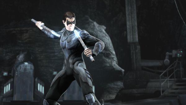 Cyborg and Nightwing join Injustice: Gods Among Us - Gematsu Nightwing Injustice Comic