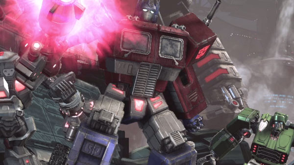transformers fall of cybertron g1 optimus prime trailer gematsu