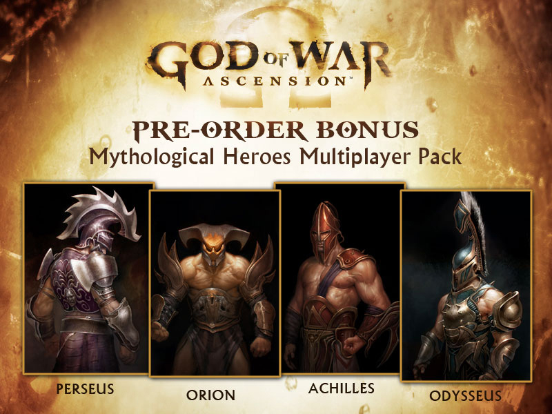 God Of War Ascension Collector S Editions Pre Order Bonuses