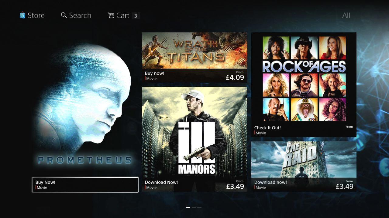Sony reveals new PlayStation Store [Update] - Gematsu