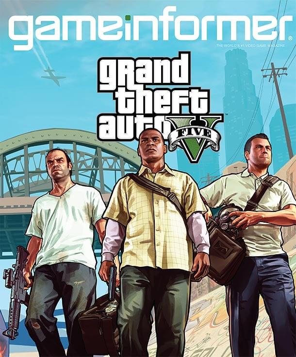 Gta Grand Theft Auto V 5 Ps3: Game Informer Grand Theft Auto V Cover Revealed