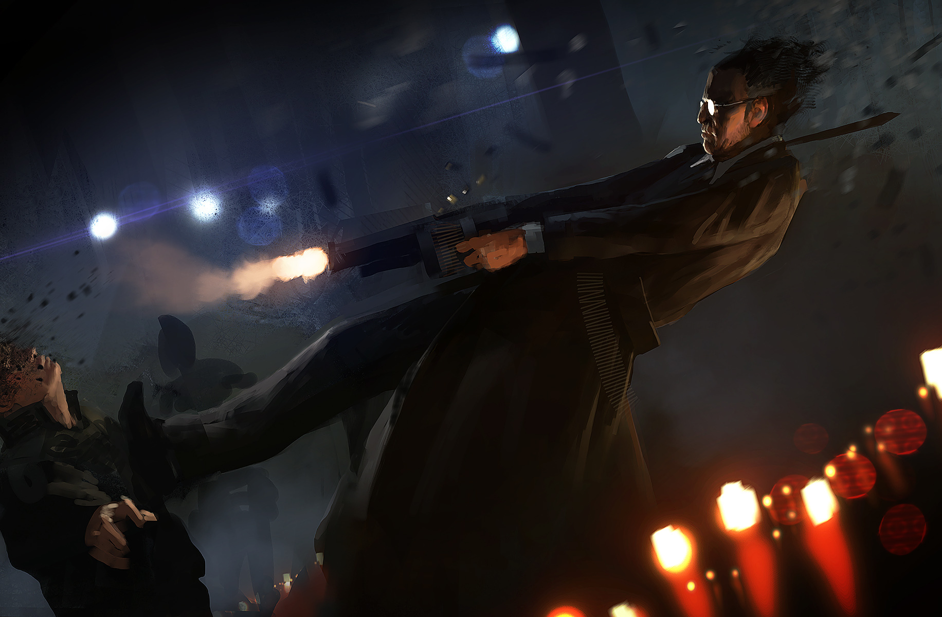 The studio posted the first concept art of their upcoming hitman game