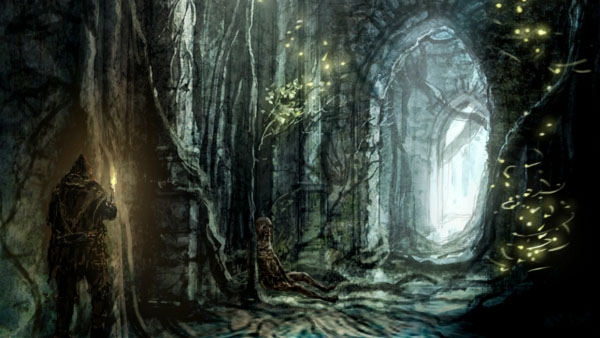 Dark Souls Location Concept Art
