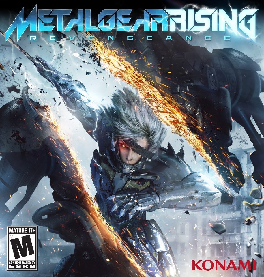 Metal Gear Rising new U S  box artMetal Gear Rising Revengeance Cover Ps3