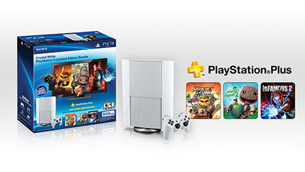 Classic White PS3 Bundle