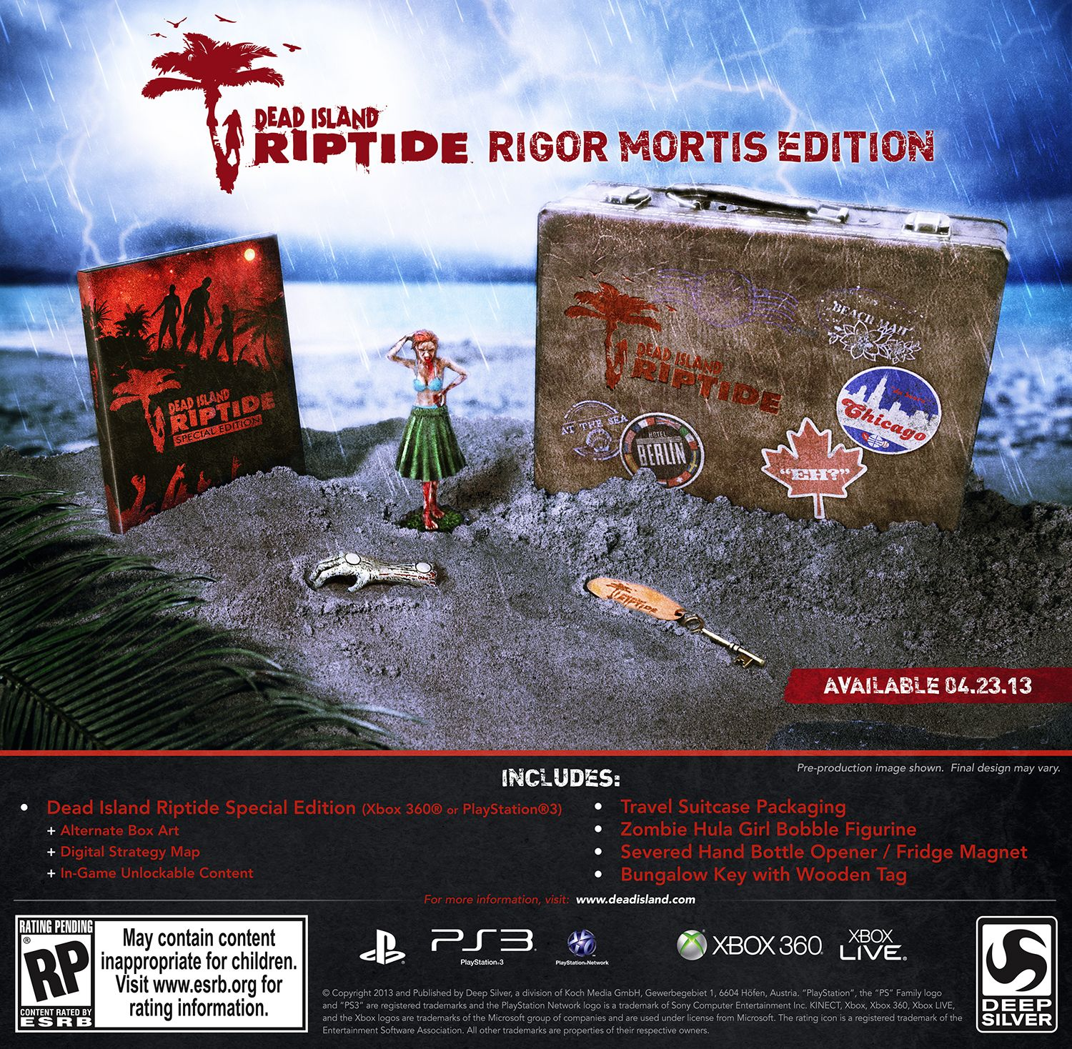 Dead Island Riptide Game Of The Year Edition Xbox