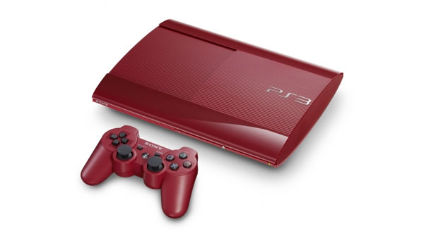 "PlayStation 3 ""Garnet Red"""