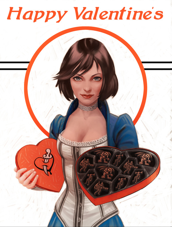 Happy Valentine's Day from Irrational Games and BioShock Infinite