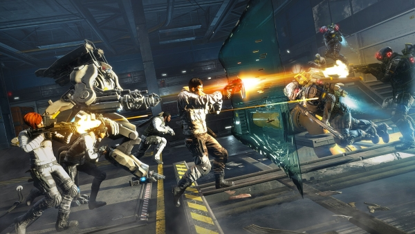 fuse, electronic arts and insomniac's four-person co-op action shooter for  playstation 3 and xbox 360, will launch on may 28 in north america and may  31 in