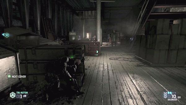 Splinter Cell Blacklist Abandoned Mill Gameplay