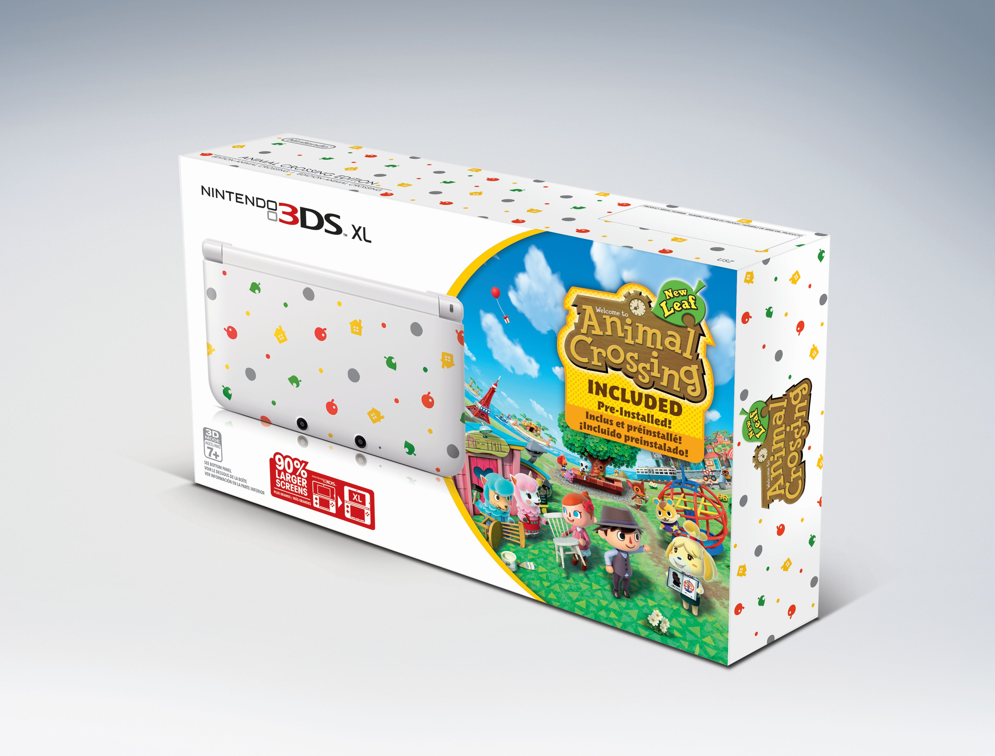 Animal crossing new leaf 3ds bundle coming to u s gematsu - Console 3 ds xl pas cher ...