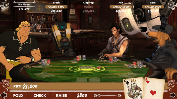 Announced Poker Night 2