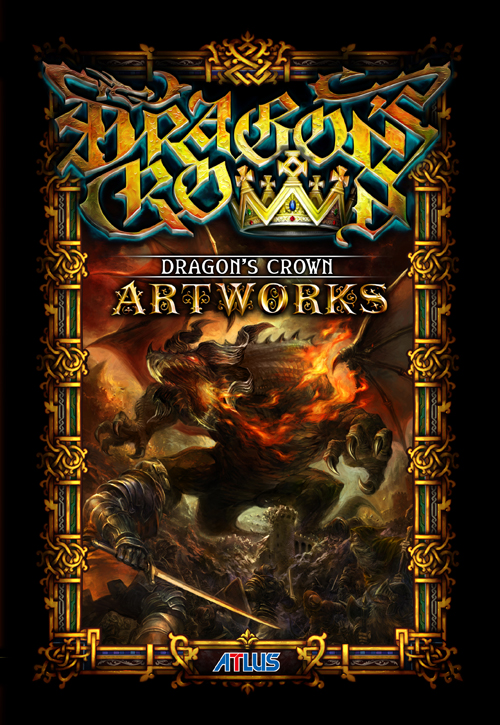 Dragon's Crown Japanese box art, art book cover [Update ...
