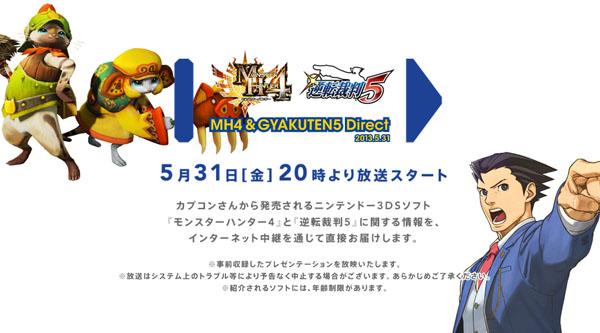 Nintendo Direct especial Capcom