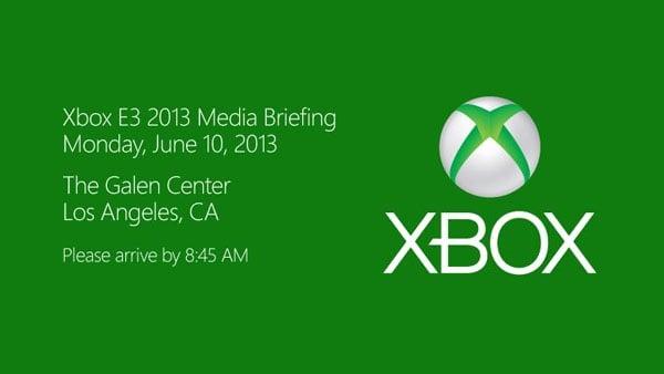 Xbox E3 2013 Invite