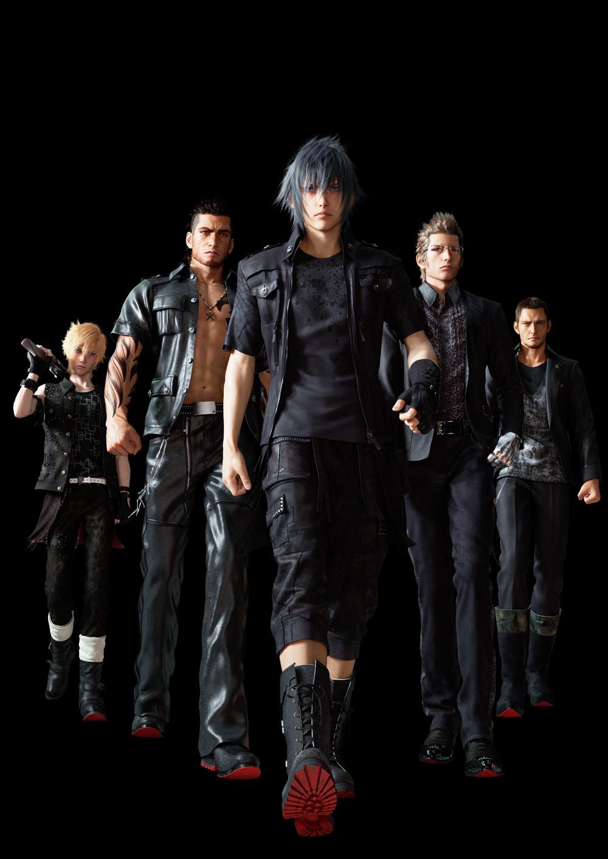 Final Fantasy XV main characters officially detailed - Gematsu