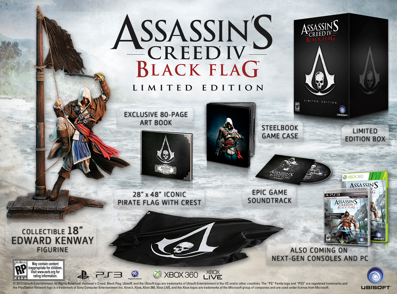 Assassin's Creed IV: Black Flag limited edition announced ...