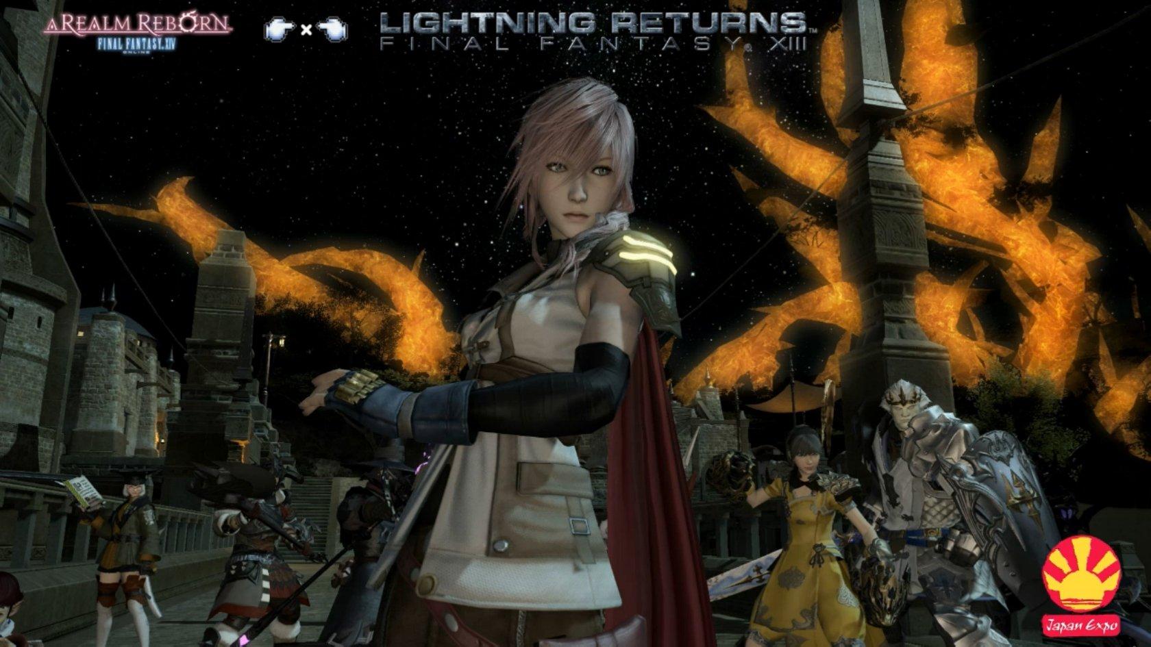 Final Fantasy XIV has Lightning costume, more - Gematsu