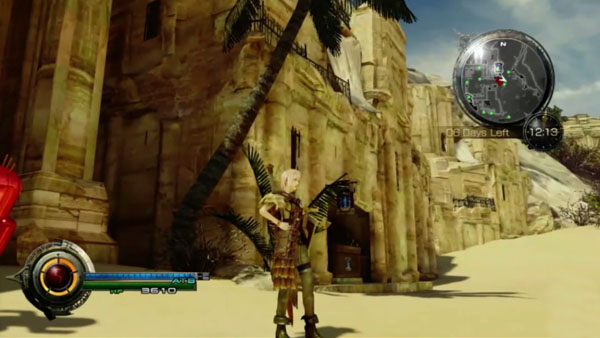 A ... & Lightning Returns: Final Fantasy XIII Japan Expo gameplay ...