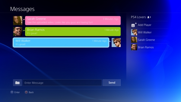 psn party chat private