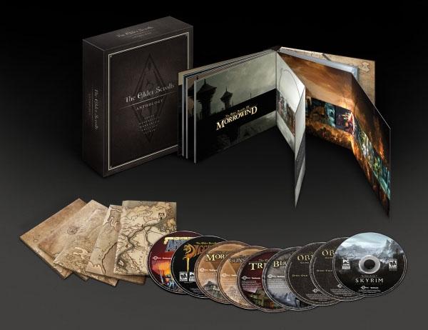 Сборник The Elder Scrolls Anthology анонсирован для PC | игры Skyrim PC